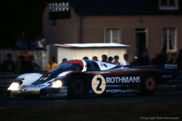 The Rothmans Porsche 956 003 was driven by Jochen Mass and Vern Schuppan to 2nd place at Le Mans in 1982.