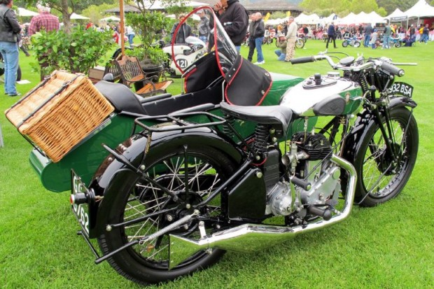 The woman who owns this loveliest of BSA-based sidecars is Theresa Worsch, and what a very special thing it is from those proper days of 1932 England.