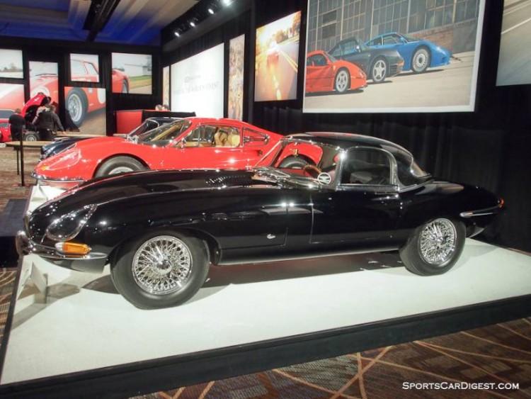 1961 Jaguar XKE SI flat floor Roadster