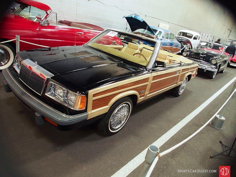 1986 Chrysler LeBaron Town & Country Turbo Convertible