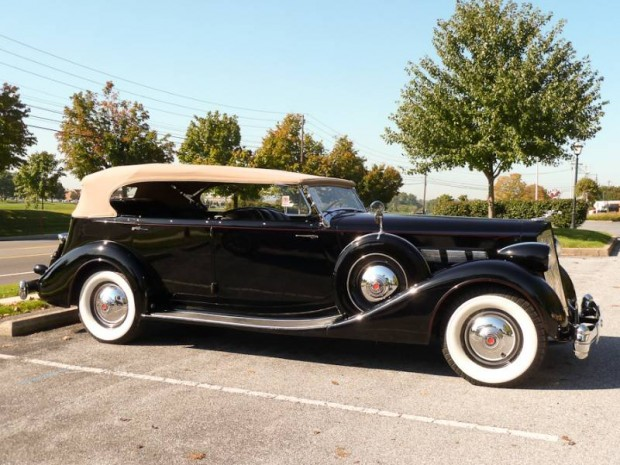 1936 Packard Super Eight 7-Passenger Phaeton, Body by Dietrich