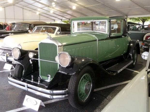 1929 Pierce-Arrow Model 125 Coupe