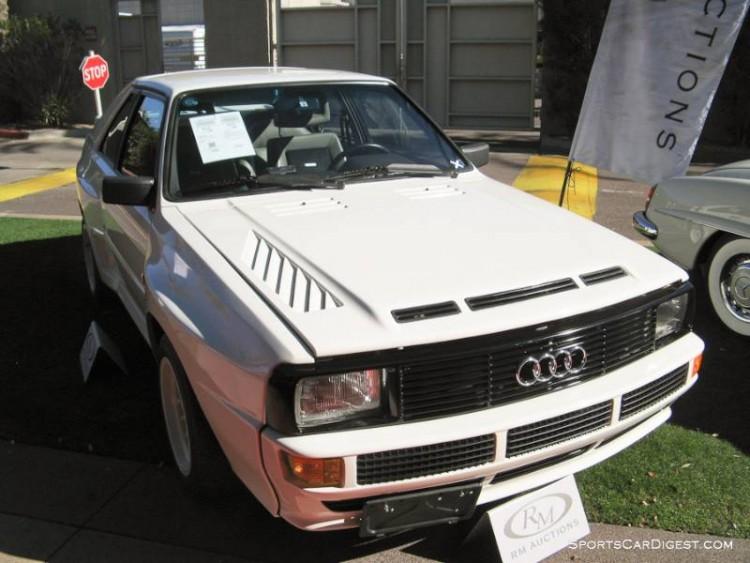 1984 Audi Sport Quattro Coupe