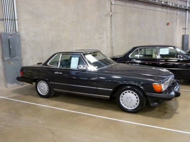 1988 Mercedes-Benz 560 SL Convertible for sale