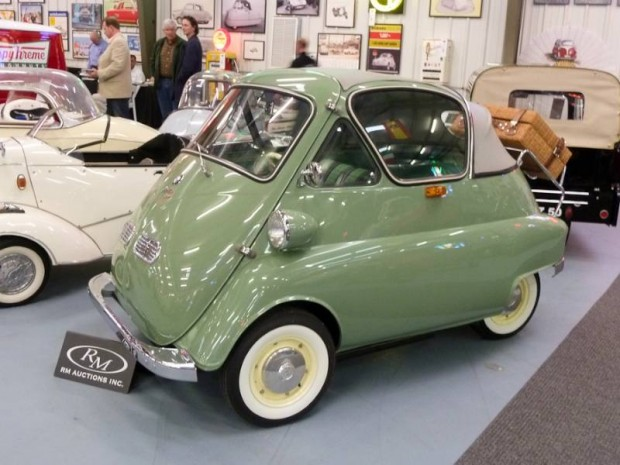 1956 BMW-Isetta 300 Cabriolet Bubble Window
