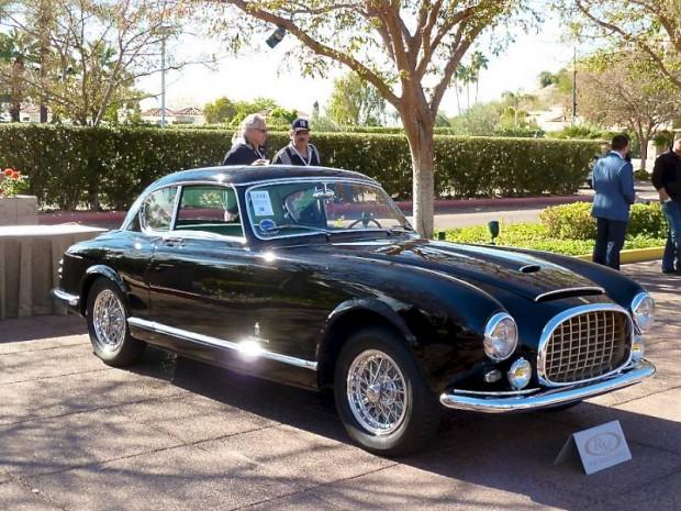 1952 Ferrari 342 America Coupe Speciale