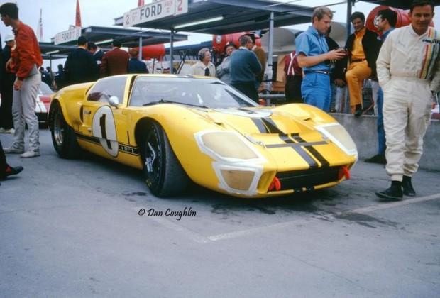 Bruce McLaren Ford GT40 Mk. II Lucien Bianchi Daytona 1967