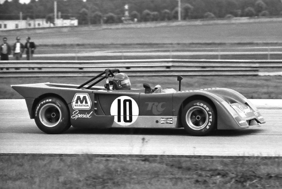 The Shierson Racing Chevron B19 Ford driven by Bill Barber and Charlie Kemp.  The car failed to finish.  Louis Galanos photo.