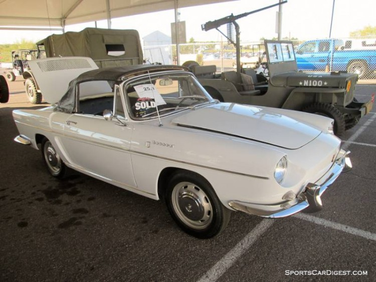 1966 Renault Caravelle Convertible