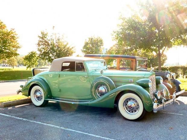 1935 Packard 1207 Twelve Coupe Roadster