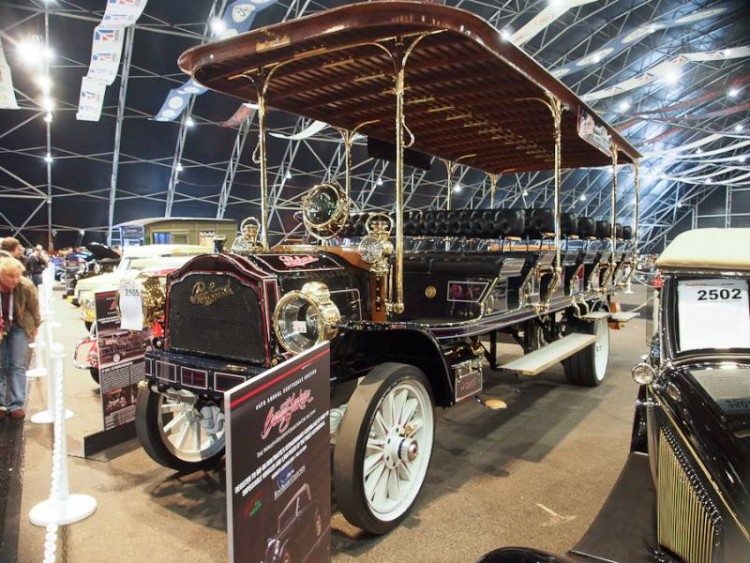 1912 Packard ATD Sightseeing Bus
