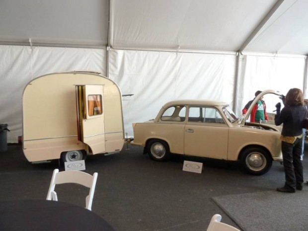 1958 Trabant P50 2-Dr. Sedan and Weferlinger Heimstolz Camp Trailer