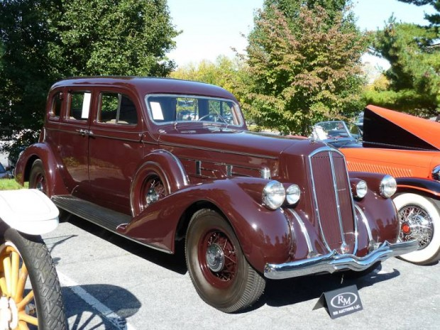 1936 Pierce-Arrow 1602 Twelve 4-Dr. Sedan