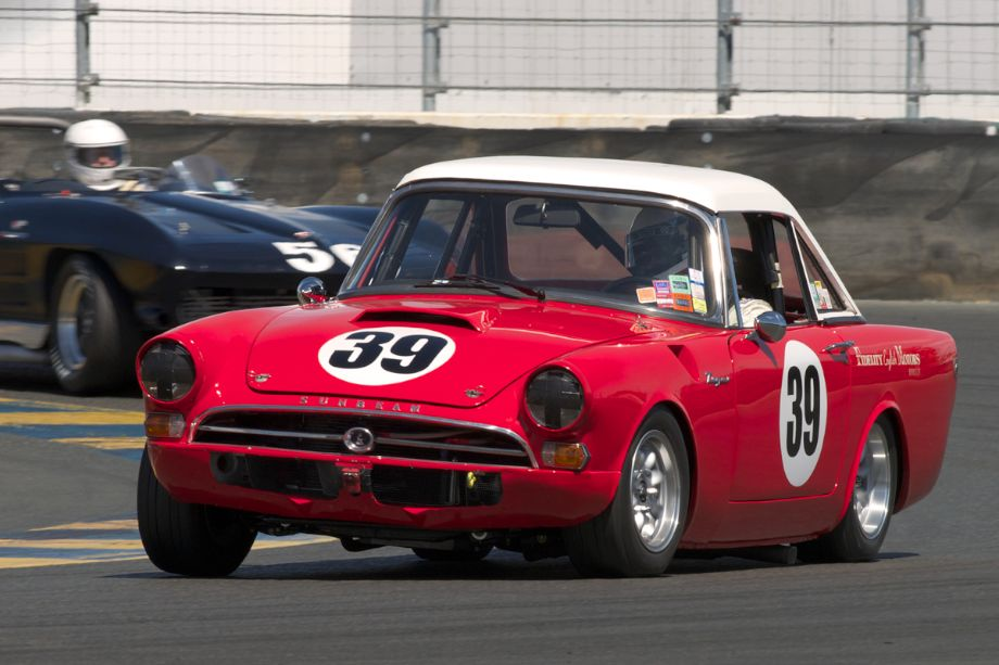 Grant Lipsky's 1965 Sunbeam Tiger in eleven.