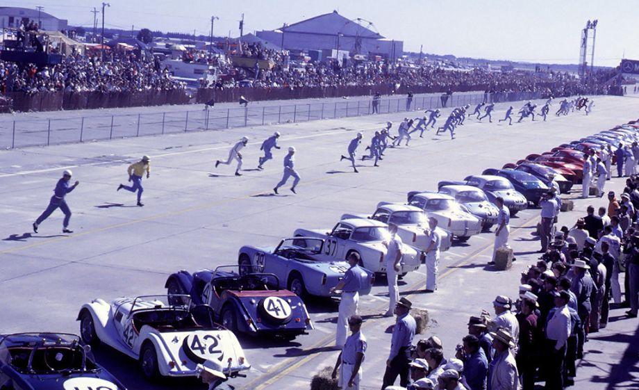 Le Mans start at Sebring 1963