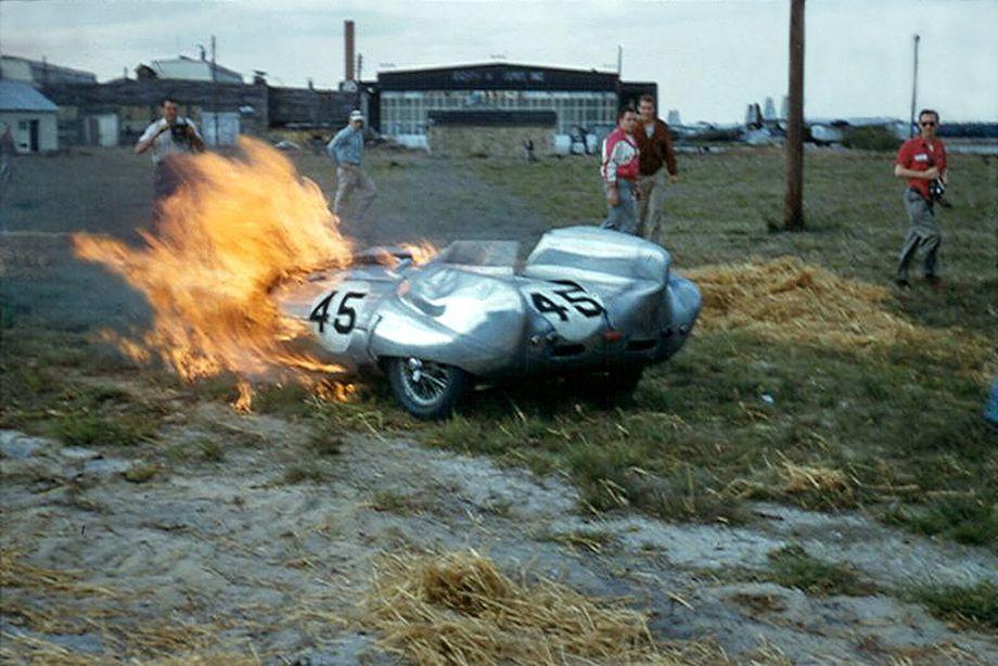 Len Bastrup Colin Chapman Lotus Eleven