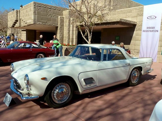 1957 Maserati 3500 GT Berlinetta Touring body