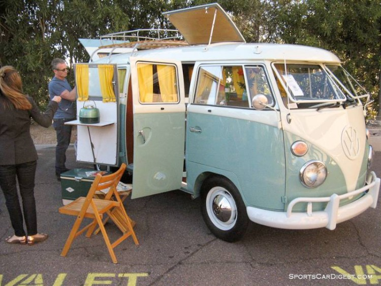 1962 Volkswagen Type 2 Microbus Camper, Body by Westfalia