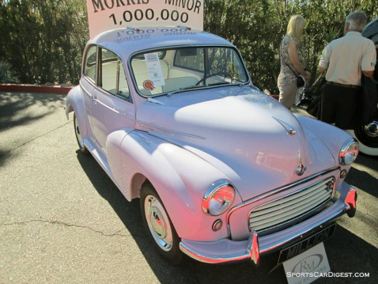 1961 Morris Minor 1000000 2-Dr. Sedan