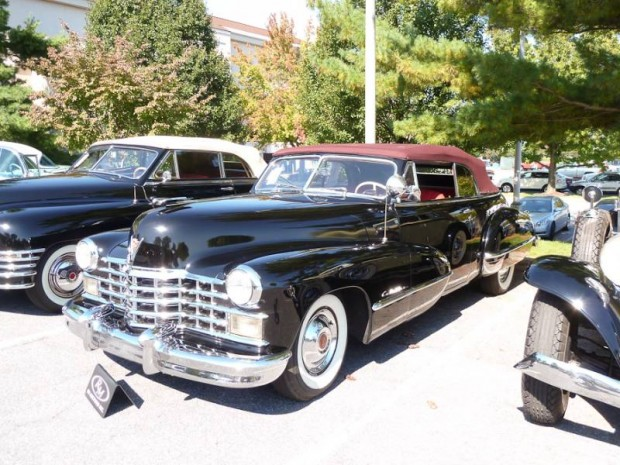 1947 Cadillac Series 62 Convertible Coupe