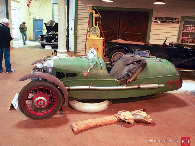 1937 Morgan Super Sports Barrel Back roadster