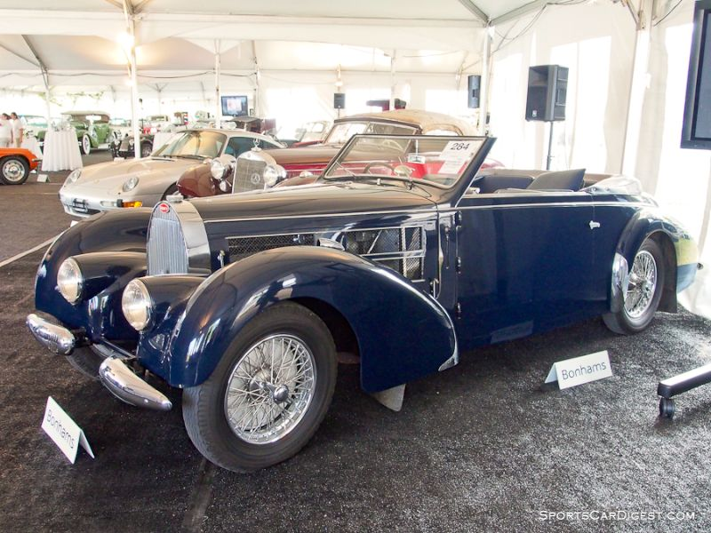 1938 Bugatti Type 57S Stelvio Convertible, Body by Gangloff