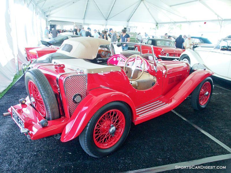 1935 SS Jaguar SS1 Sports 2-seater
