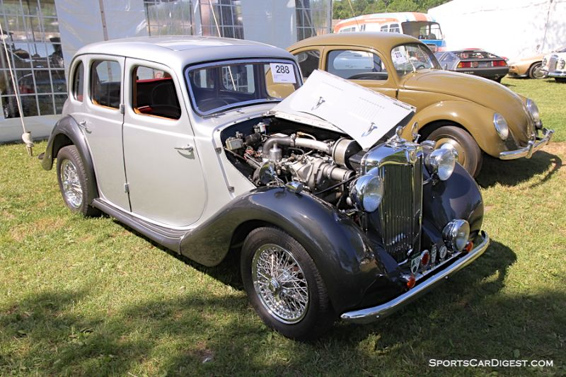 1950 MG Y-Type Supercharged Saloon
