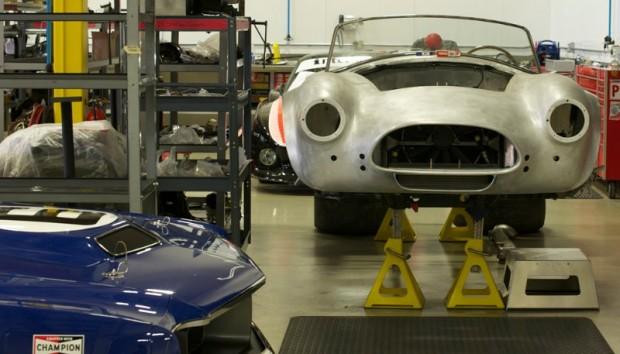 Shelby Cobra under restoration