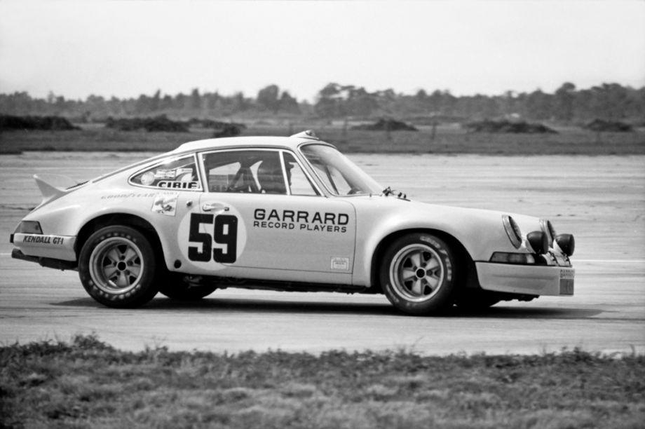 The winning Porsche 911 Carrera RSR