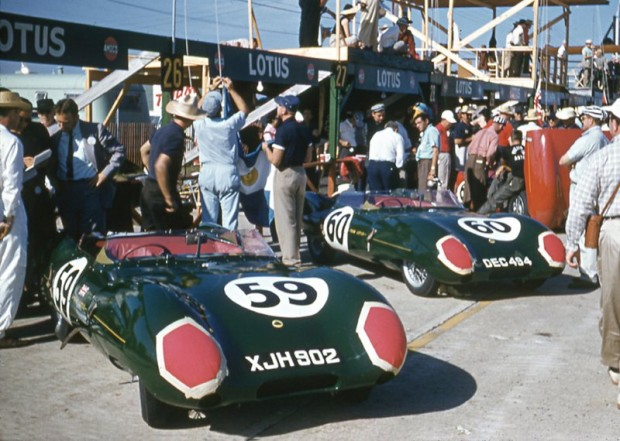 Team Lotus Eleven at 1957 12 Hours of Sebring