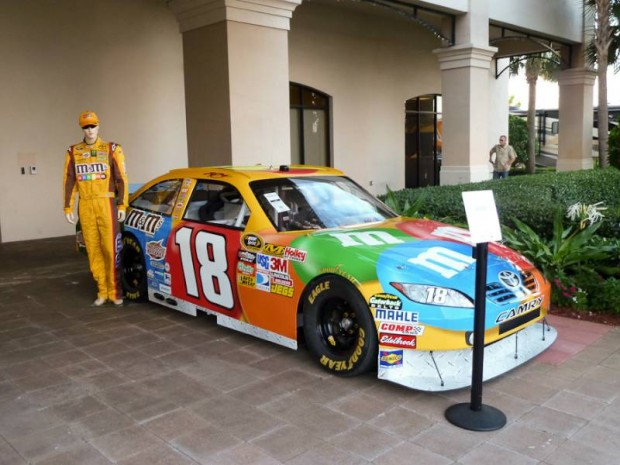 2011 Toyota Camry Kyle Busch Number 18 NASCAR Race Car