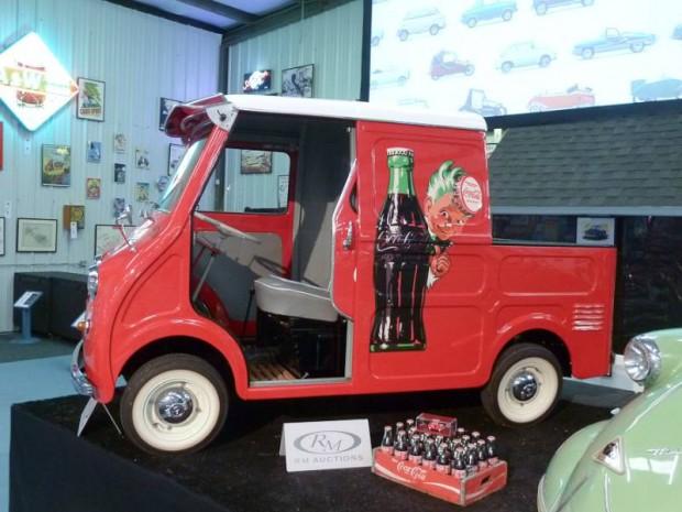 1959 Goggomobil TL-400 Transporter Pickup Coca-Cola