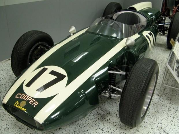 Jack Brabham 1961 Cooper-Climax