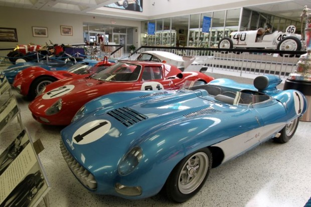 1957 Corvette SS and 1965 Ferrari 250 LM