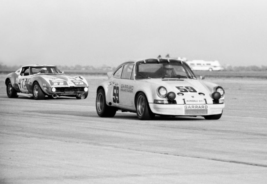 Competition between the Porsches and Corvettes was fierce