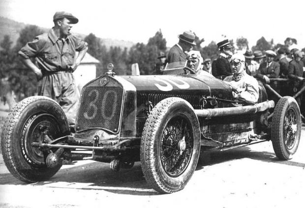 1930 Targa Florio, Alfa Romeo Tipo B P2, Varzi