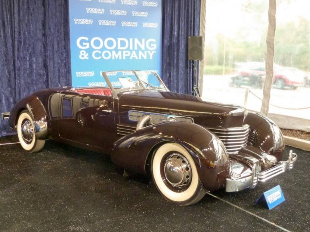 1937 Cord 812 Supercharged Convertible Coupe