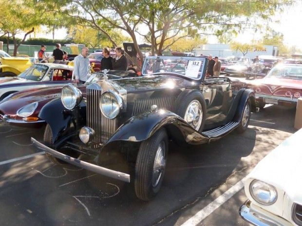 1933 Rolls-Royce 20-25 Drophead Coupe for sale