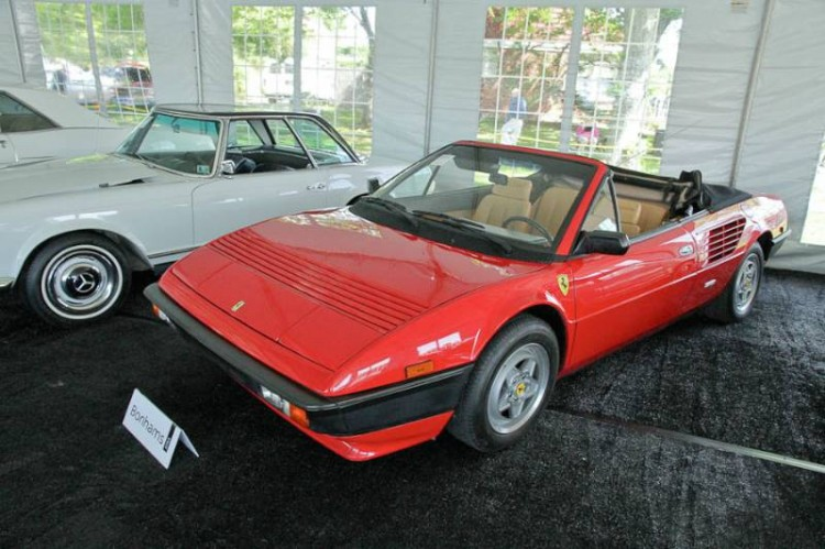 1985 Ferrari Mondial 3.2 Cabriolet, Body by Pininfarina