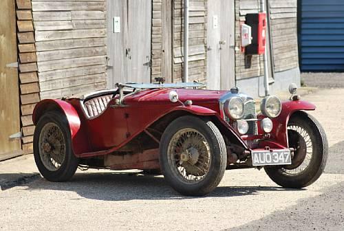 1935 Riley 9hp Imp Roadster