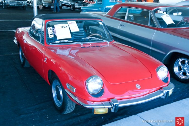 1971 Fiat 850 Sport Spider, Body by Bertone