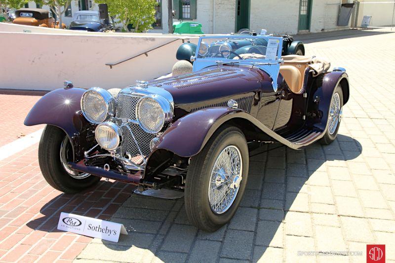 1937 SS Jaguar 100 2 1/2 Liter Roadster