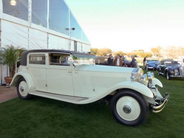 1932 Rolls-Royce Phantom II Sedanca de Ville Barker