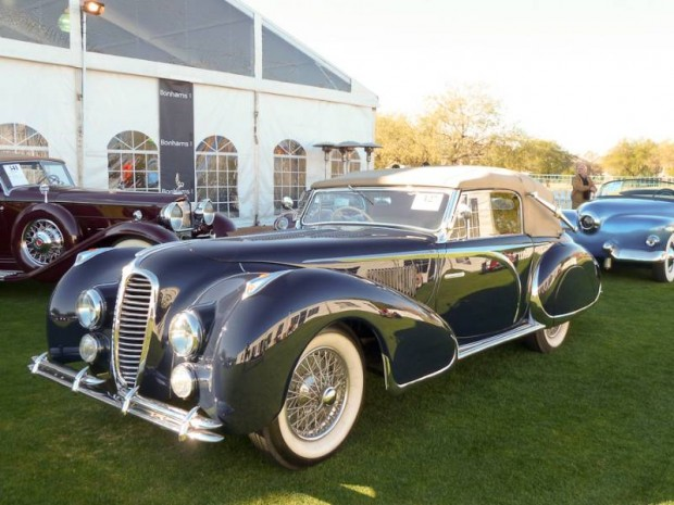 1947 Delahaye 135M 3-Position Drophead Coupe Figoni and Falaschi