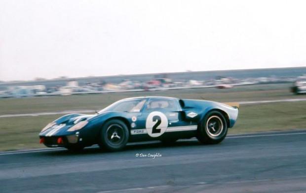 Ronnie Bucknum Shelby American Ford GT40 Mark II Daytona 1967