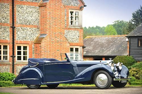 1937 Bentley 4 1/4 Liter 3-pos. Drophead Coupe