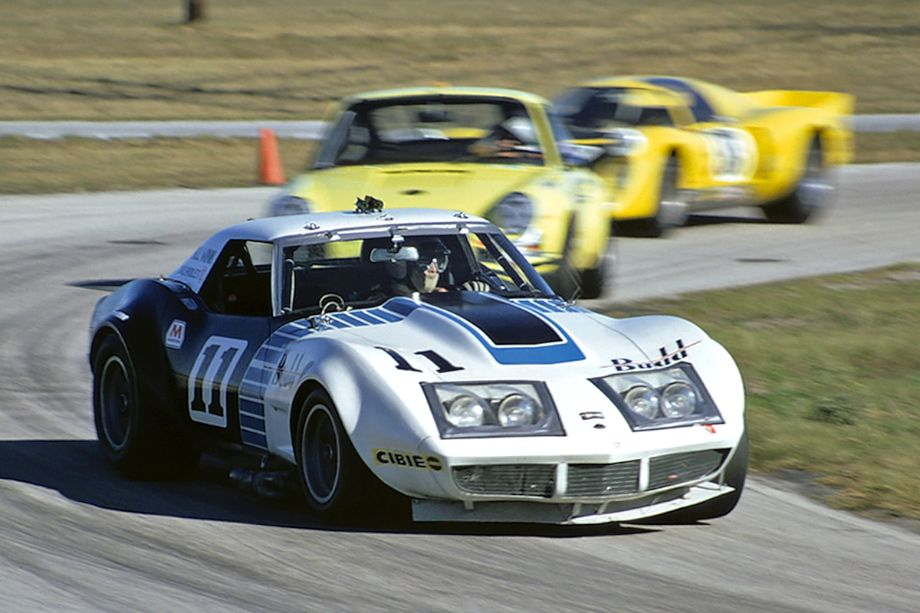 Tony DeLorenzo and Mo Carter put this Corvette on the grid in 6th place.  Unfortunately they only completed 101 laps before they retired with a blown clutch.  Fred Lewis photo.