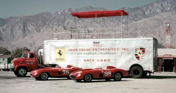 Ferraris 375 Plus, Ferrari 410 Sport picture