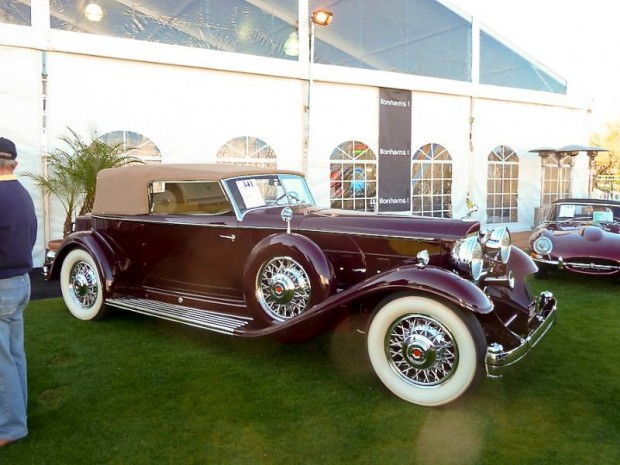 1932 Packard DeLuxe Eight 904 Individual Custom Convertible Victoria for sale